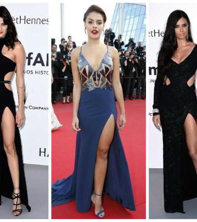 Brasileiras em Cannes: sensualidade a toda prova