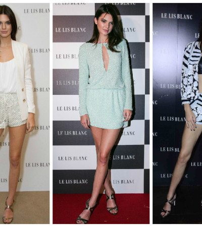 Kendall Jenner de Le Lis Blanc