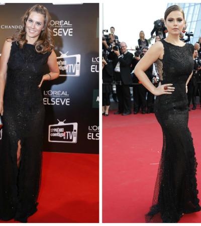 Coincidência fashion: Carolina Dieckmann e Milena Toscano amam vestido Lethicia Bronstein