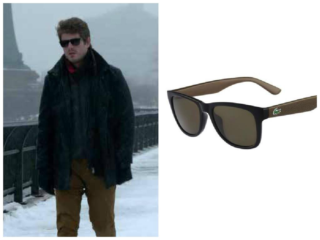 Lacoste é a marca dos óculos de sol do Benjamin (Maurício Destri), de I  Love Paraisópolis. Modelo  L734S 001. Preço  R  620. SAC  (11) 4007-2298. 44e4cb4767