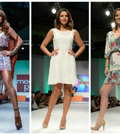 Sabrina Sato, Mariana Rios e Nathalia Dill desfilam no Mega Fashion Week