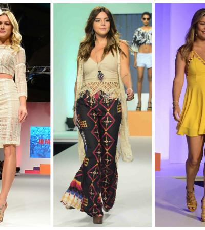 Fiorella Mattheis, Gio Lancellotti e Bárbara Borges desfilam no Mega Fashion Week