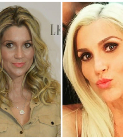 Flávia Alessandra muda visual e está com cabelos platinados