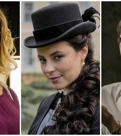 Leticia Spiller, Paolla Oliveira e Sophie Charlote: cabelos mais pedidos