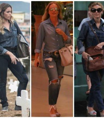 Elas amam: jeans com jeans