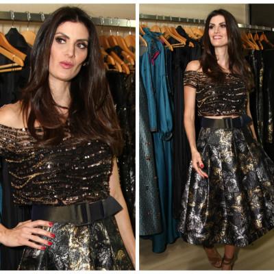 Isabella Fiorentino veste Infinita e dá dicas de moda festa