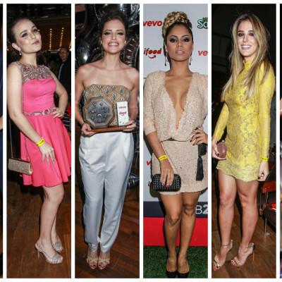 Camila Queiroz, Larissa Manoela, Lexa, Agatha Moreira: vote no melhor look do Prêmio Jovem Brasileiro