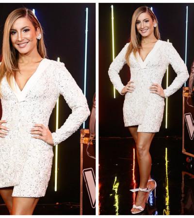 Claudia Leitte de PatBo no 'The Voice Brasil'