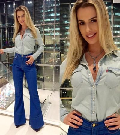 Inspire-se no look de Fernanda Keulla