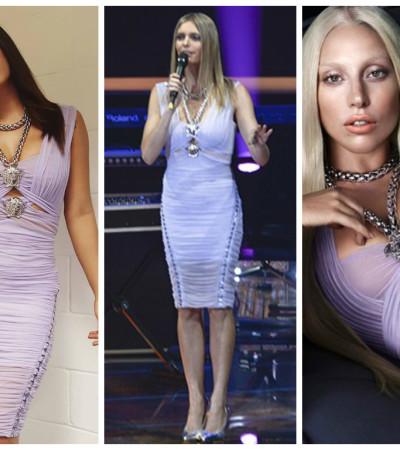 Quem ficou mais bonita de vestido Versace: Anitta, Fernanda Lima ou Lady Gaga?