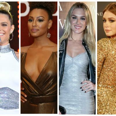 Ano-Novo: Elas amam looks dourados e prateados