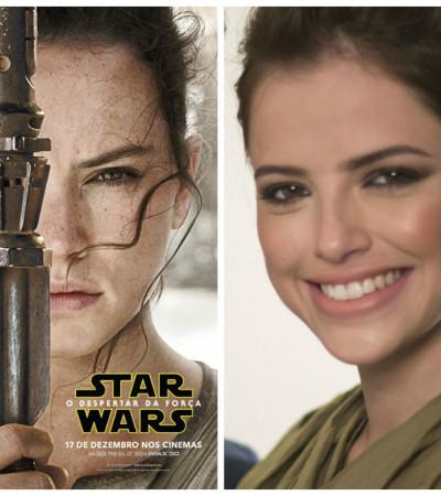"""Agatha Moreira se transforma em Rey de """"Star Wars""""; veja passo a passo"""
