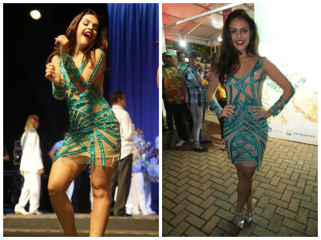 Especial de Natal: Elas amam looks verdes - Elas no Tapete