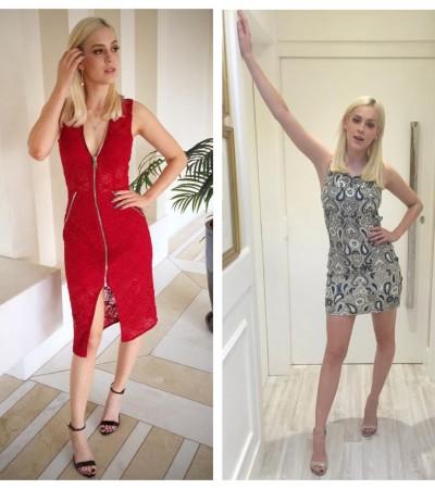 Vestidos de Sophia Abrahão: inspiração da semana