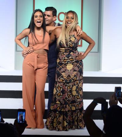 Roberta Rodrigues, Leticia Lima e Cazarré no Mega Polo de Moda