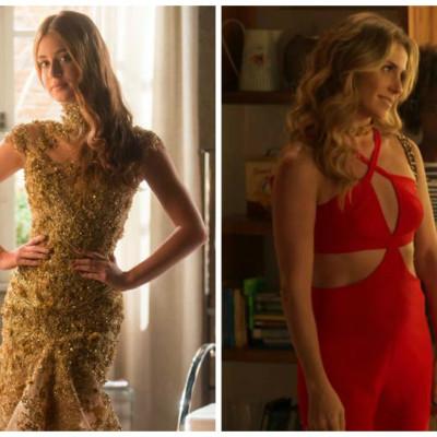 Vestido de R$ 19,9 mil de Marina Ruy Barbosa é figurino mais pedido da Globo