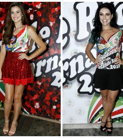 Camila Queiroz e Paloma Bernardi na Grande Rio