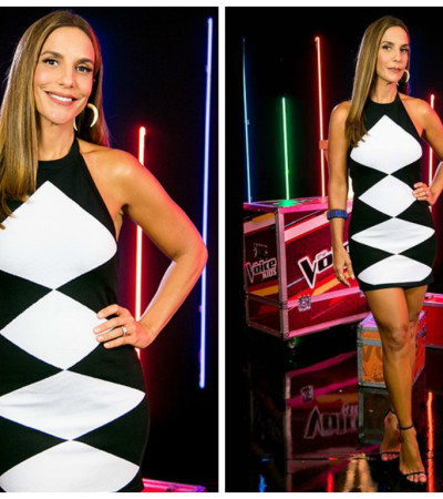 Ivete Sangalo de Balmain no 'The Voice Kids'