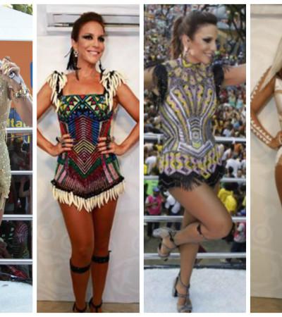 Ivete Sangalo Guerreira: vote no melhor de 4 looks