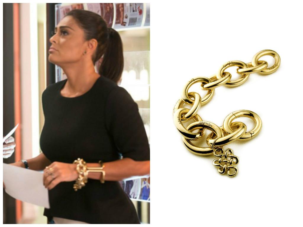 juliana paes - totalmente demais - pulseira - moda