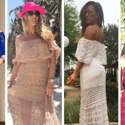 Coincidência fashion: Marina Ruy Barbosa, Galisteu, Sabrina Sato e Gio Ewbank de Galeria Tricot