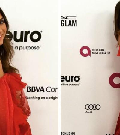 Thaila Ayala de Helô Rocha em festa pós-Oscar