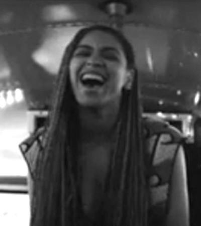 Beyoncé veste macacão Gig Couture em clipe