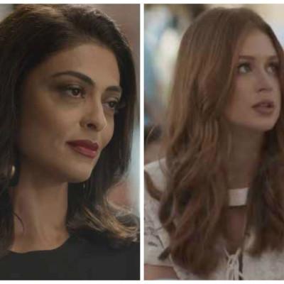 Juliana Paes e Marina Ruy Barbosa dominam ranking de cosméticos da Globo