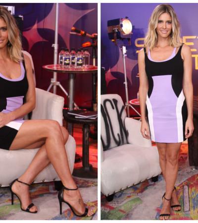 Fernanda Lima de vestido Versace de R$ 8 mil