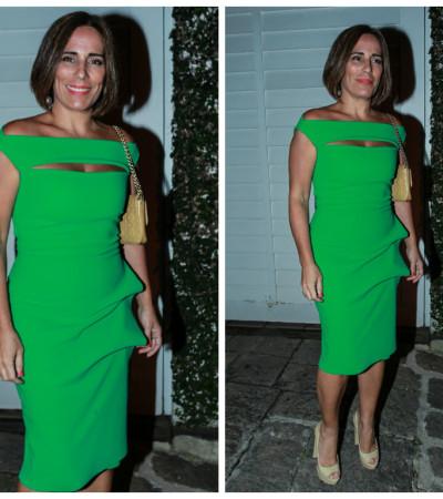 Inspire-se no vestido verde de Gloria Pires