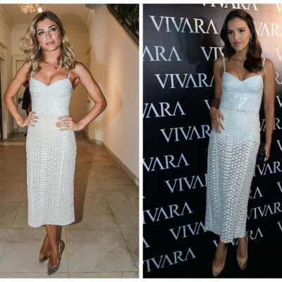 Coincidência fashion: Grazi Massafera e Mariana Rios de vestido Patricia Viera