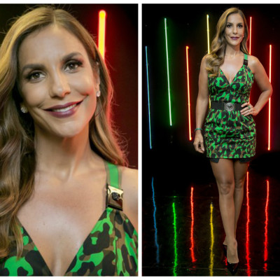 Ivete Sangalo de vestido Versace de R$ 9 mil no 'The Voice Kids'
