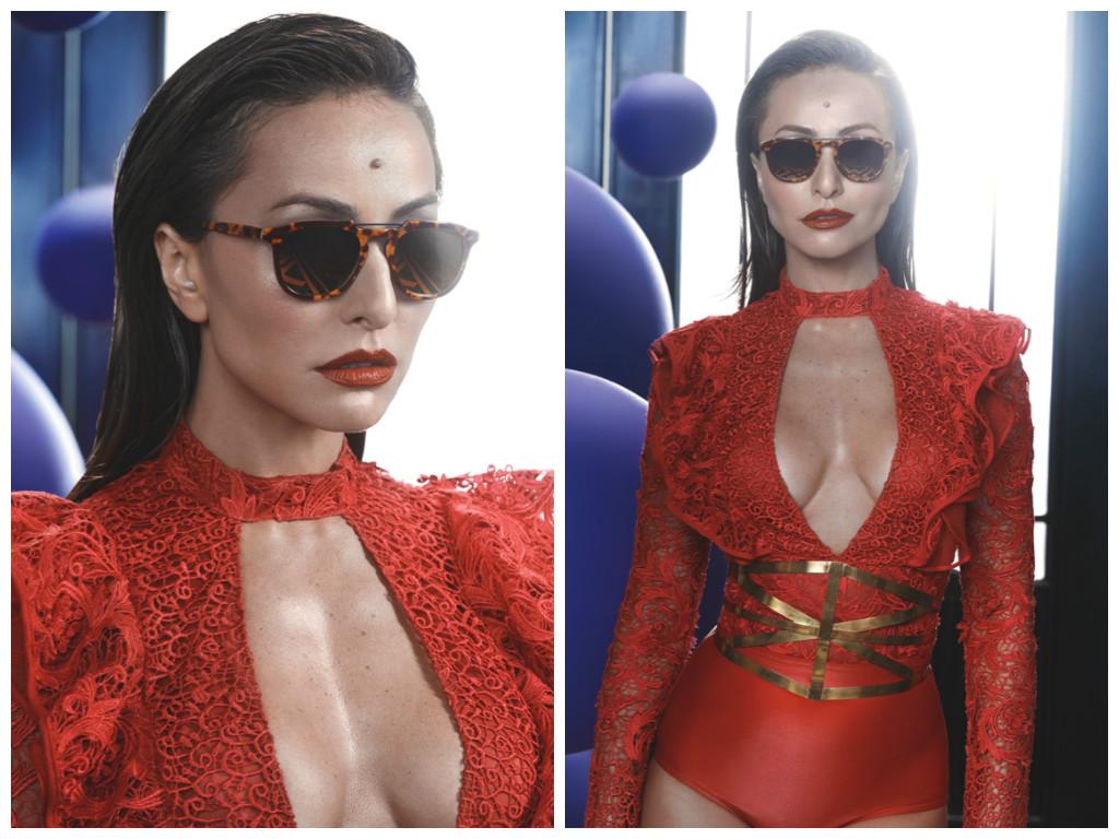 2c66e6895da70 Sabrina Sato posa para campanha de sua marca de óculos - Elas no Tapete  Vermelho