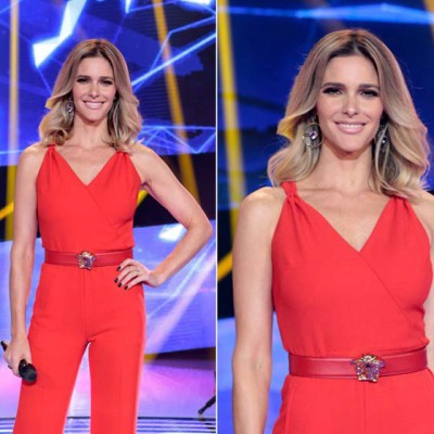 Fernanda Lima de Tory Burch no 'SuperStar'