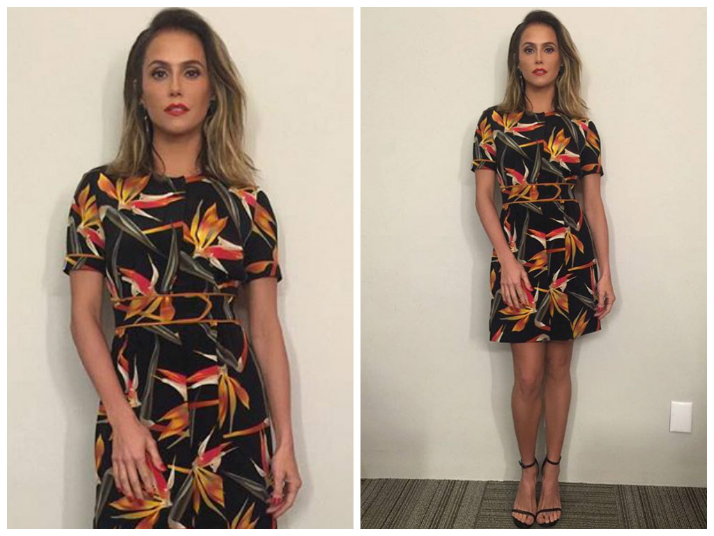 deborah secco - moda - domingao do faustao