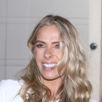Adriane Galisteu de Coven em evento do programa 'Face a Face'