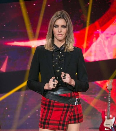 Fernanda Lima de Saint Laurent no 'SuperStar'