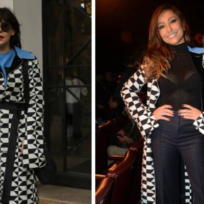 R$ 5 mil: Sabrina Sato e Bárbara Paz repetem casaco Reinaldo Lourenço