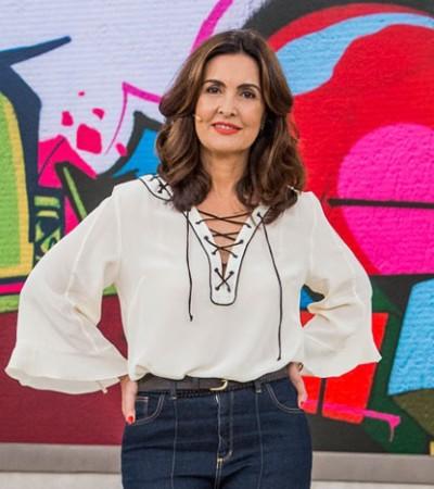 5 looks da Fátima Bernardes com calça flare para copiar
