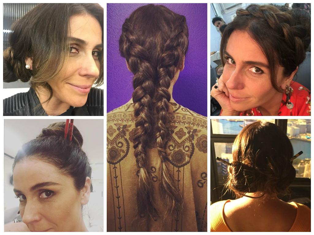 """Penteados de Giovanna Antonelli em """"Sol Nascente"""" chamam atenção"""
