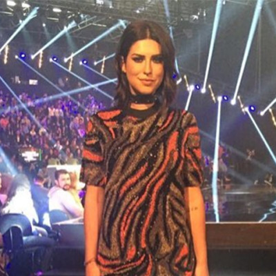 Fernanda Paes Leme usa vestido igual ao de Anitta no 'X Factor'