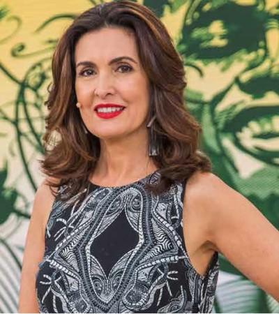 Batom vermelho da Fátima Bernardes é o mais pedido Globo