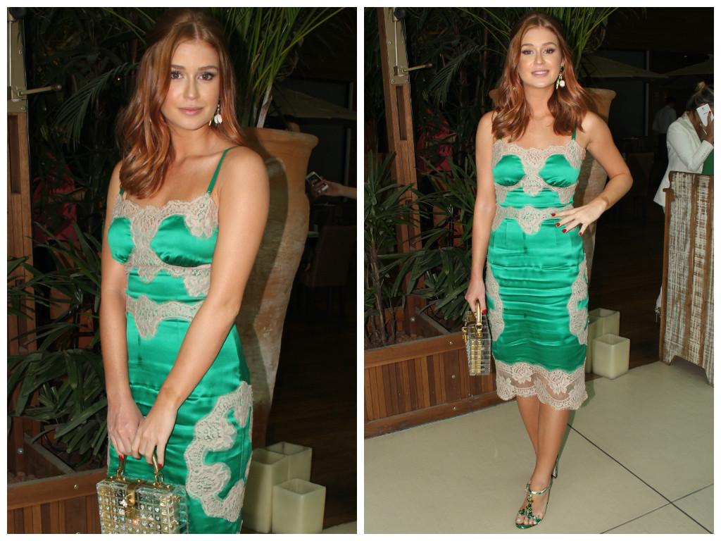 78c999c671 5 looks verdes da Marina Ruy Barbosa  inspire-se - Elas no Tapete ...