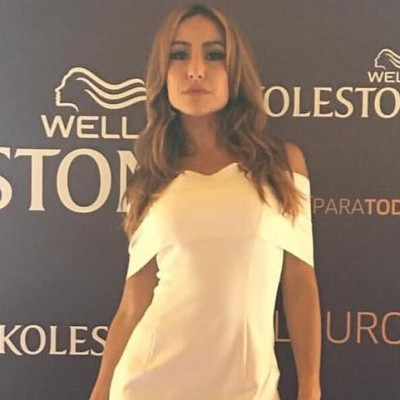 Sabrina Sato de vestido branco Letage