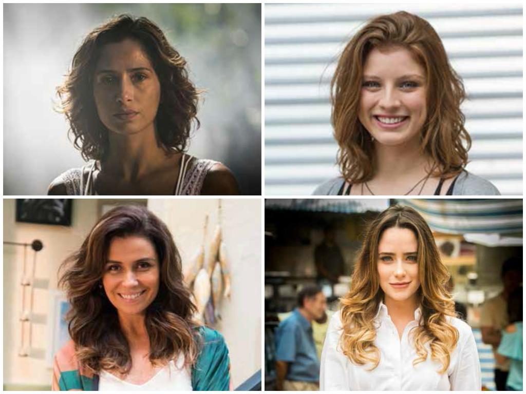 Long bob de Camila Pitanga é cabelo mais pedido da Globo