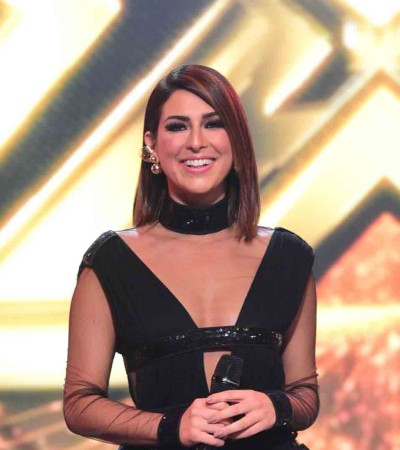 Fê Paes Leme elege looks pretos para a final de 'The X-Factor'