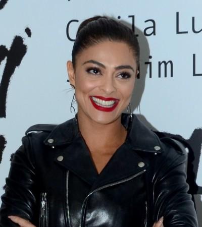Juliana Paes e Mariana Ximenes usam jaqueta de couro preta; inspire-se