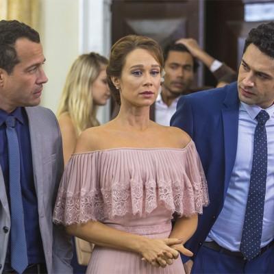 Mariana Ximenes usa vestido de R$ 3 mil como Tancinha em 'Haja Coração'