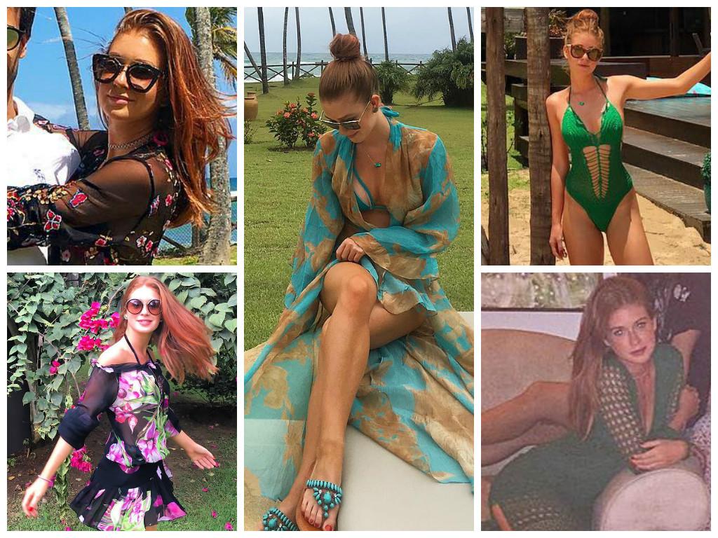 Inspire-se em 6 looks da Marina Ruy Barbosa na Bahia