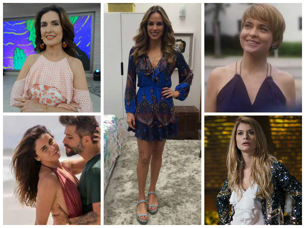 Figurinos queridinhos das telespectadoras (Fotos: TV Globo/Divulgação)